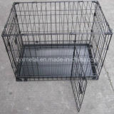 Double Doors Knock Down Metal Animal Pet Rabbit Cage