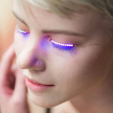 Factory Price LED Lashes Flashing Eyelashes for Club Halloween Masquerade