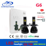 Super Bright Hi/Lo LED Headlight 48W 4800lm LED Headlight H1 H3 H4 H7 H8 H13 9004 9005 9006 9007 Replace HID Xenon Kits