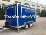 Fooding Vending Street Food Cart Coffee Shop Mobile Food Truck with Ce
