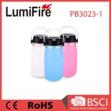 Solar LED Camping Lantern with USB Rechargeable Battery