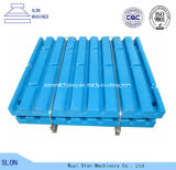 High Quality Metso C96 C100 C106 Jaw Crusher Spare Parts Fixed / Moving Jaw Plate
