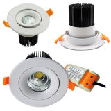 20W Recessed Ceiling Light Dimmable Epistar COB LED Downlight