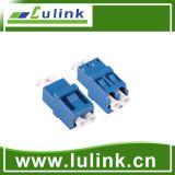 New Design LC Fiber Optic Adapter with Sm Duplex