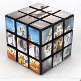 Promotional Sticky Note Plastic Puzzle Advertisement Magic Cubes