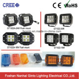 Flush Mount CREE 24W LED Work Light for Jeep Wrangler (GT1022A-24W)