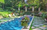high quality artificial turf backyard