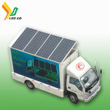 Solar Mobile Advertising Vehicle LED Display