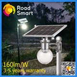 Integrated 12W LED Solar Street/Garden Light with Solar Panel