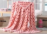 100% Polyester Flannel Fleece Blanket