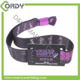 festival event concert payment MIFARE Ultralight C NFC Woven fabric RFID wristband