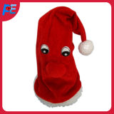 Christmas Decoration Fabric Singing and Dancing Hat Musical Christmas Toys