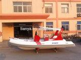 Liya 5.8m Luxury Inflatable Rib Boats Row Boat Supplies