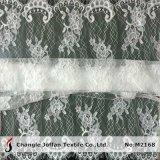 Floral Eyelash Bridal Lace Fabric (M2168)