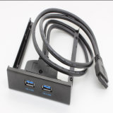 Internal 20 Pin 2 Ports USB 3.0 Panel Bracket Cable
