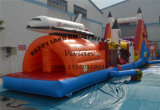 Shuttle Pland Customize Theme Inflatable Obstacle Course