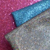 Glitter Honey PU Leather, Honey Textured Decorative Leather Textile
