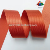 1-1/2 Inch Orange Red Twill Nylon Webbing Straps for Bags