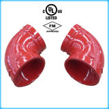 UL Listed, FM Approval Ductile Iron 90 Elbow 219.1 (Galvanized)