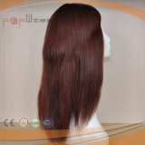 Full Handtied Lace Base Fashion Red Color Women Toupee