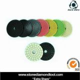 Colorful Wet Polishing Pads for Granite/Marble