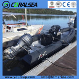 Rib Fiberglass Inflatable Speed Fishing Boats Hfx580