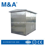 Outdoor Stainless Steel Box Type Substation for Electrical Power Distribution