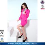 Ladies Ployester Business Elegant Women Office Skirt Suit