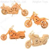 Wooden Craft Model Motorcycle Construction Kit (501-505)