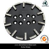 10 Inch Diamond Grinding Segment Concrete Plate