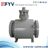 API Trunnion Mounted Ball Valve with Gear/Manual