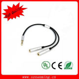 3.5mm Audio Splitter Cable Male to 2 Female (NM-DC-319)