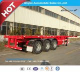 3 Axle Container Chassis or Container Skeletal Truck Semi Trailer
