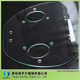 Special Shape Tempered Glass with Holes