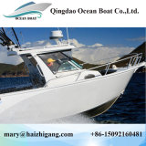 6.25m Center Cabin with Hardtop 21 FT Deep V Bottom Sea Sailing Yacht Motor Speed Boat