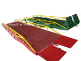 Hydraulic hyavy loading mobile dock leveler