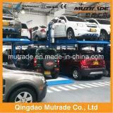 CE Garage Car Dealer 2 Deck Car Parking Lift