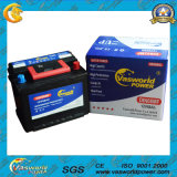 CE Approved DIN72 Maintenance Free Auto Lead Acid Battery 12V72ah
