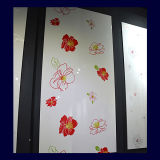 Colour Painting UV Board with Flowe Design (ZH054)
