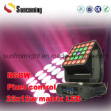 25X12W Matrix 4in1 LED Moving Head Lights