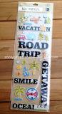 Scrapbook Handmade Paper Craft Travel Adhesive 3D Stickers