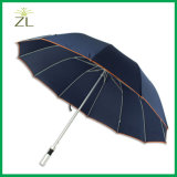 "Advertising 27"" Cheap Best Manufacturers Big Windproof Sport High Quality Golf Umbrella for Promotional with Metal Shaft"