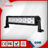 60W CREE Single Row LED Work Light Bar