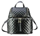 Fashion Black Stitching PU Backpack (KCH07)