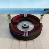 All Weather Wicker New Design PE High Quality Rattan Outdoor Sofa (S201)