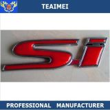 ABS Chrome Badge Sticker Red SI Name Badge Emblems