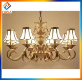 Modern Bronze Chandelier LED Ceiling Lamp