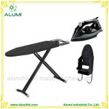 Hotel Stable Ironing Board with Steam Iron and Iron Holder