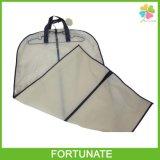 Custom Size Foldable Non Woven Ziplock Garment Packaging Bag