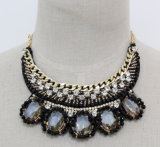 New Fashion Costume Chunky Choker Collar Crystal Necklace (JE0074)